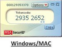 2  Installing RSA SecurID soft token application